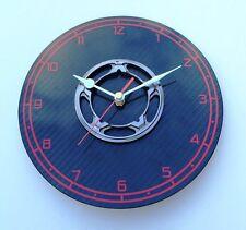 Marussia F1 part carbon fibre wall clock guys mans Formula 1 car motorsport gift