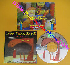 CD LESS THAN JAKE Losers Kings And Things We Don't Understand no lp mc dvd (CS1)