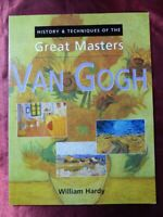 History & Techniques of the Great Masters VAN GOGH BOOK 1861604726 Art History