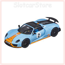 "Carrera Evolution 27549 Porsche 918 Spyder ""Gulf Racing No.02"" 1:32 Slotcar Auto"