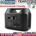 300W Portable Power Station 296Wh Backup Lithium Battery Pack Solar Generator US photo