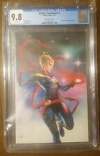 Infinity Countdown 1 Captain Marvel CGC 9.8 Granov Virgin Variant Edition 2018