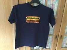 Adidas Boys T Shirt Size Large Navy Blue Excellent Condition