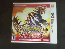 Replacement Case (NO GAME) POKEMON OMEGA RUBY  3DS Box & Instructions Only
