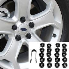 20Pcs ABS 17mm Car Hub Screw Cover Car Wheel Nut Caps Bolt Rims Valve Stems Caps