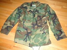 Military Cold Weather Field Coat Woodland Camouflage  M-65 Small-Regular 8415-01