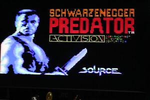 Predator  Commodore 64 C64 ( original ) Spiel 1988 Schwarzenegger Rar selten