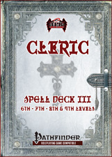 Cleric Spell Card Deck III (6th - 9th) Pathfinder RPG Paizo TPK Games d20