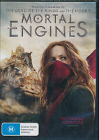 Mortal Engines DVD NEW Region 2 and 4