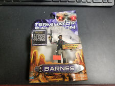 Playmates Terminator Salvation Barnes with Resistance Blaster Action Figure New!