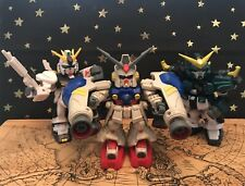 Gundam Wings SD Mobile Suit Action Figures, Lot of 3 Rare Preowned