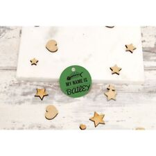 Personalised Pet Tags ID Collar Cat Dog 25mm Paw Print Made Custom Tag