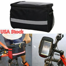 Outdoor Bicycle Handlebar Bag Bike Cycling Pack Front Pannier Waterproof USA