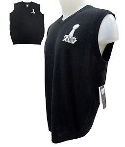NFL Super Bowl XLV 45 Champ - Green Bay Packers Sleeveless Sweater Vest Men
