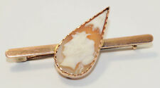 Antique 9ct Yellow Gold Cameo Brooch - PERRYMAN Jewellers South Australia