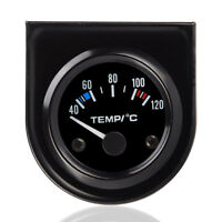 "Universal Car 2"" 52mm Digital LED Water Temp Temperature Gauge Kit 40-120℃ New"