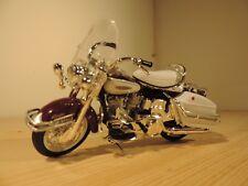 Maisto harley davidson 1966 FLG Electra white Toy
