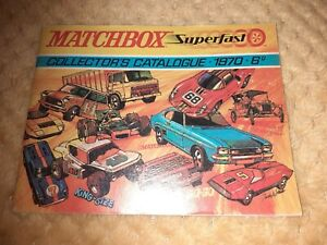 Matchbox Superfast collectors Catalogue 1970