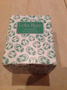 Lola Rose Green Malachite White Birch Scented Candle - New