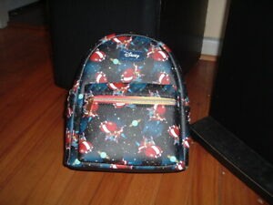 LOUNGEFLY DISNEY STITCH IN SPACE MINI BACKPACK~ WITH TAGS~ BRAND NEW~