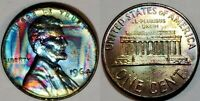1964 - ABSOLUTELY STUNNING - MONSTER TONED - LINCOLN MEMORIAL CENT  #9275