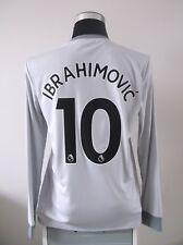 IBRAHIMOVIC #10 NUOVO con etichetta Manchester United THIRD FOOTBALL SHIRT JERSEY 2017/18 (M)