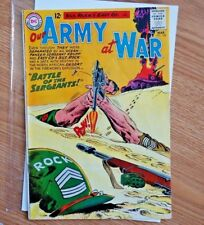 Our Army At War #128 Training & Origin Sgt. Rock 1st Sgt. Krupp