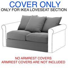 Ikea Gronlid Cover Slipcover For Loveseat Section Ljungen medium gray