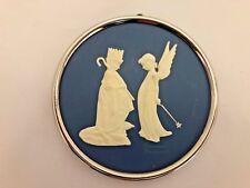 """Blue 3 1/4"""" Norman Rockwell 4th Series 83 Dress Rehersal Ornament Figurine"""