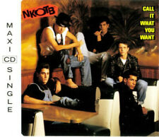 NEW KIDS ON THE BLOCK - Call it what you want 3TR CDM 1990 HOUSE / SYNTH-POP