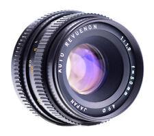 Auto Revuenon 50 mm f 1,9 con Pentax K puerto SN