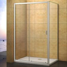 1200x700mm Sliding Shower Enclosure Tempered Glass Screen Door Side Panel