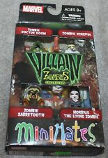VINTAGE MARVEL MINIMATES VILLAIN ZOMBIES COLLECTION SERIES 2