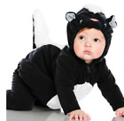 NEW Carter's Baby Skunk Halloween Costume Size 18 Month 2 Piece