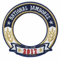 BOY SCOUT 2017 NATIONAL JAMBOREE OFFICIAL UNIFORM WORLD CREST RING PATCH EMBLEM