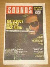 SOUNDS 1989 MAR 11 RICK RUBIN STONE ROSES SIMPLE MINDS
