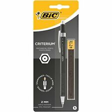 BIC Criterium 2mm Lead Mechanical Pencil - Assorted Pack of 1, Plus 6 Leads