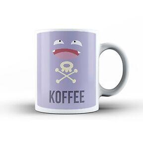 Koffing Koffee Funny Pokemon Ceramic Office Coffee Tea MUG Cup Novelty Gift