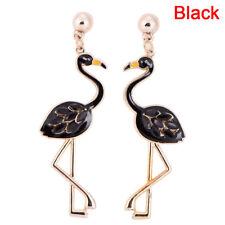 Flamingo Pendant Earrings Drop Dangle Ear Stud Earrings Jewelry Women Pip UK