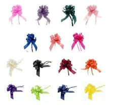 Large Pull Bows Weddings Hampers Floristry, All Occasions 50mm Gift Bow Ribbon