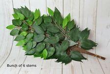 Artificial Ficus Green Foliage Bunch 56 cm x 6 stems