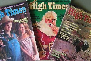 "High Times  1976 X 3 ""Time Capsule"" Collector's Package by Tim Van Schmidt"