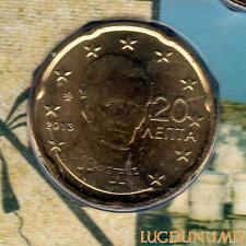Grèce 2013 - 20 Centimes d'euro 20 000 exemplaires Provenant du coffret BU RARE