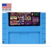 Super 49 in 1 Nintendo SNES Game Cartridge 16-Bit Multicart NTSC Free Shipping