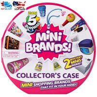 5 Surprise Mini Brands Zuru Ball Collector's Display Case + 2 Mystery Minis NEW