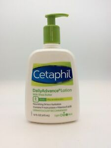 Cetaphil DailyAdvance Lotion with Shea Butter Body Dry, Sensitive Skin (16oz)