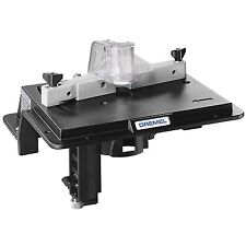 Dremel Shaper Router Table Saw Attachment Add On Cut Shape Wood Tool Work Rotary