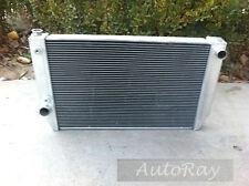 56mm Aluminum Ford Falcon race radiator V8 6cyl XC XD XE XF 2 Core Auto Manual