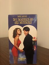 So I Married an Axe Murderer (VHS, 1997) Romantic Comedy Columbia TriStar