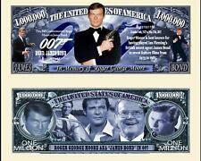 OUR ROGER MOORE AS JAMES BOND 007 DOLLAR BILL